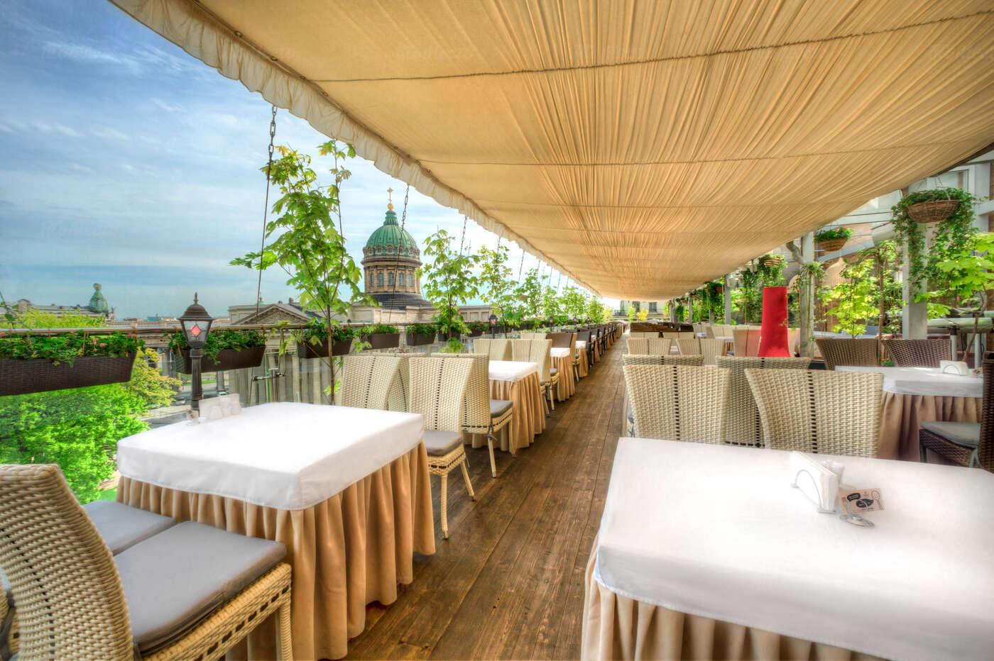 Меню ресторана Терраса на Казанской улице