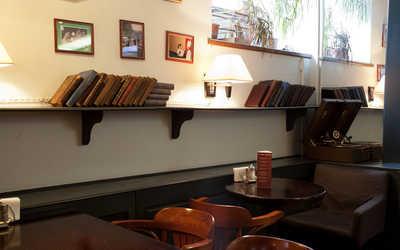 Банкетный зал бара, кафе Суарэ (Soiree) на улице Жуковского