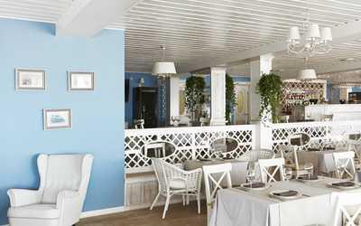 Банкетный зал ресторана Калипсо на 1-й линии