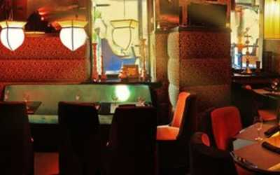 Банкетный зал бара, караоке клуба, ресторана Мопс на улице Рубинштейна