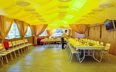 Банкетный зал ресторана Квадрат на улице Доблести фото 2
