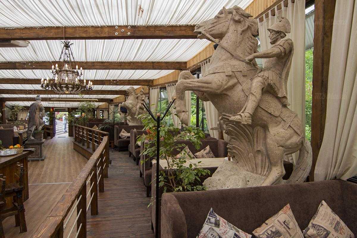 Ресторан Parkking в парке Александровском