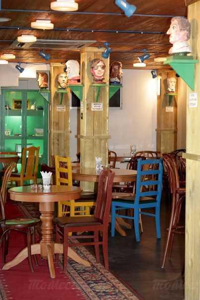 Меню ресторана Петрович на улице Марата