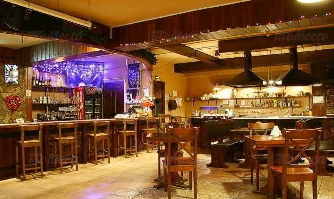 Меню ночного клуба, пивного ресторана Шхера на Пражской улице
