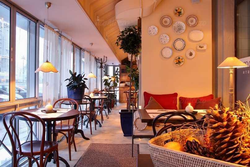 Меню ресторана Моццарелла бар (Mozzarella bar) на Московском проспекте