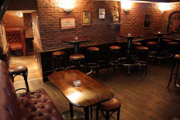 Меню караоке клуба, ночного клуба, пивного ресторана Трибунал бар на Караванной улице