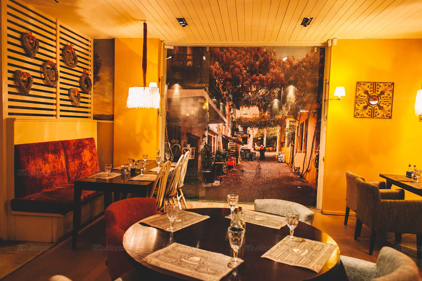 Меню ресторана Труффальдино на Большом проспекте Васильевского острова