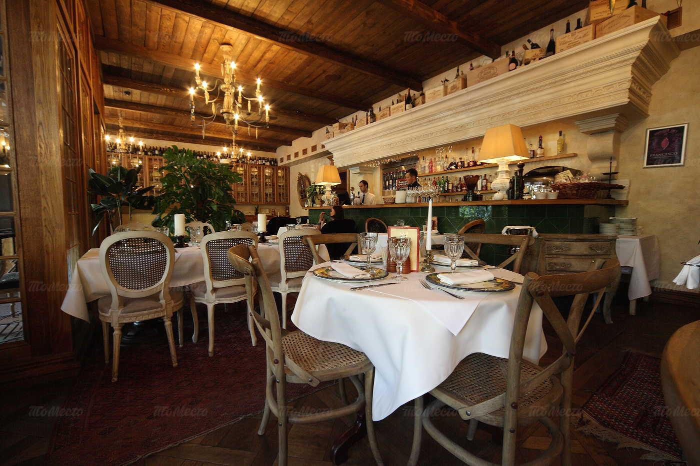 Ресторан Франческо (Francesco) на Суворовском проспекте