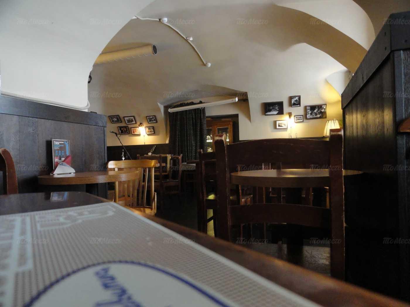 Меню бара Хельсинкибар (Helsinkibar) на Кадетской линии