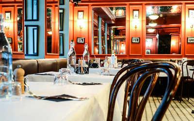 Банкетный зал ресторана Жан-Жак Руссо на Гатчинской