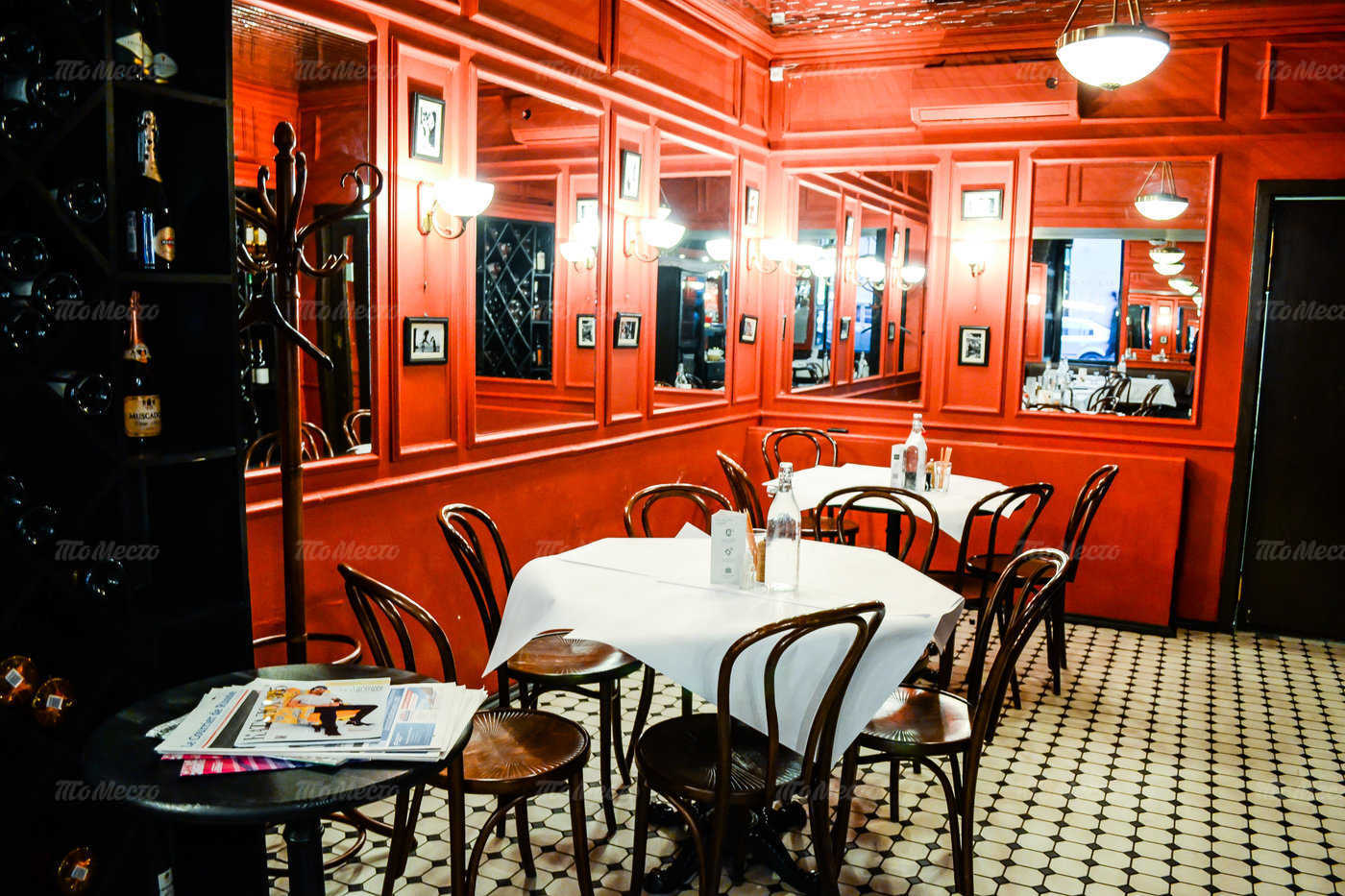 Меню ресторана Жан-Жак Руссо на Гатчинской