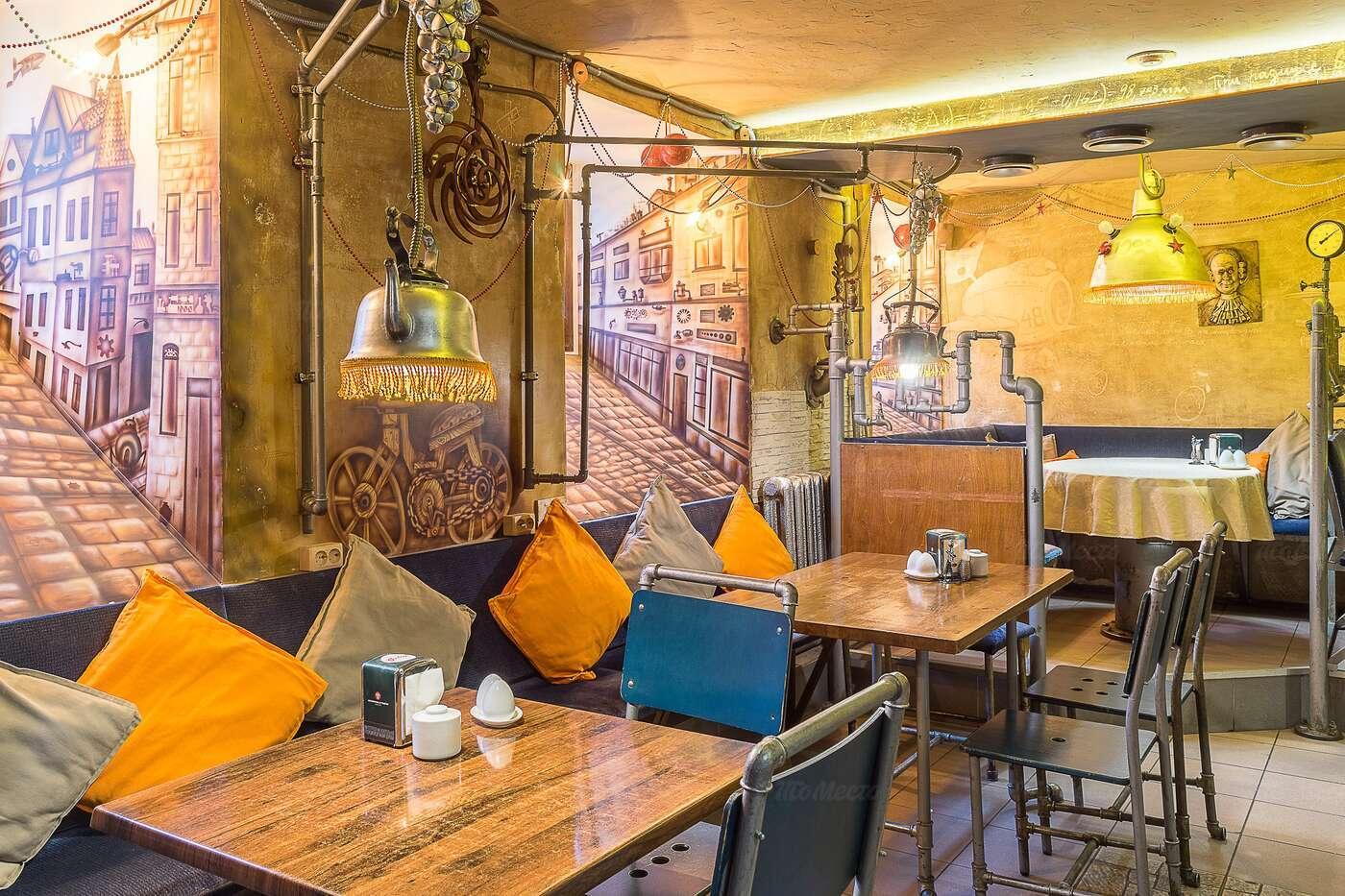 Кафе Заводные яйца на Фурштатской улице фото 3
