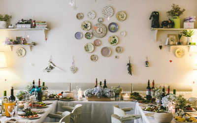 Банкетный зал кафе Клумба на Невском проспекте фото 2