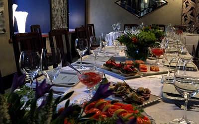 Банкетный зал ресторана FlamandRose на Малой Посадской улице фото 3