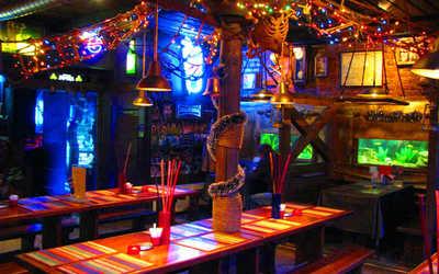 Банкетный зал бара Веселый Роджер на Московском проспекте