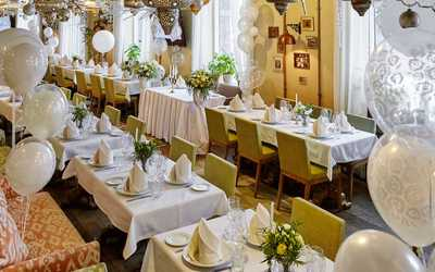Банкетный зал ресторана Бричмула на Комендантском проспекте