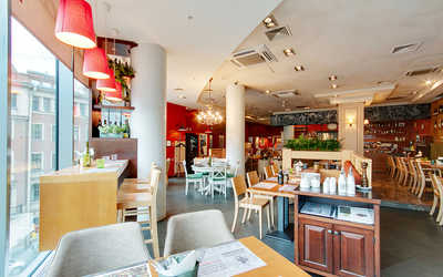 Банкетный зал ресторана Italy на Большом (Итали) на Большом проспекте П.С. фото 3