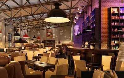 Банкетный зал бара, ресторана Зимний Шатёр на Итальянской улице фото 1