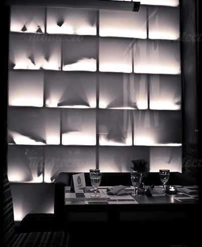 Меню бара, ресторана Зимний Шатёр на Итальянской улице