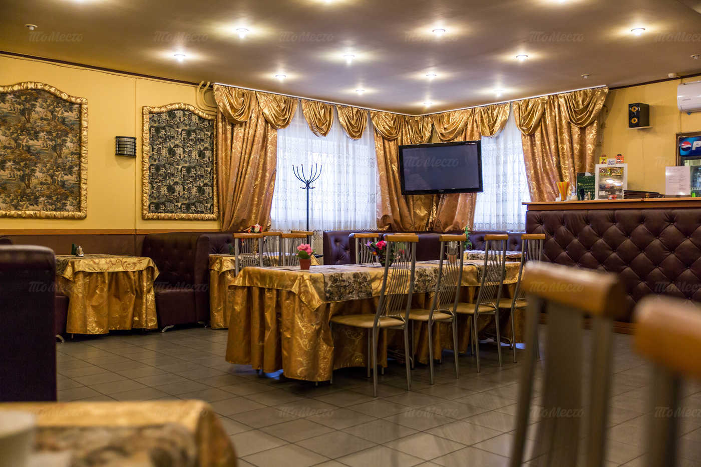 Меню кафе, ресторана Барский уголок на Царицынской улице