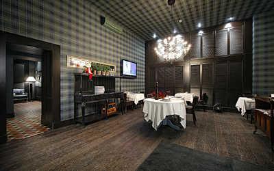 Банкетный зал стейк-хауса Стейк Хаус (Steak House) на Московском проспекте