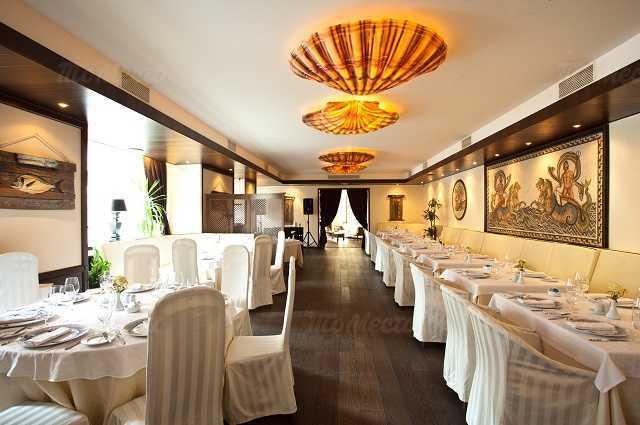 Меню ресторана Ла Маре (La Maree) на Суворовском проспекте