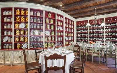 Банкетный зал ресторана Cantinetta Antinori в Денежном переулке фото 2