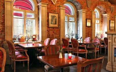Банкетный зал кафе Мишель (café Michel) на улице Красной Пресня фото 2
