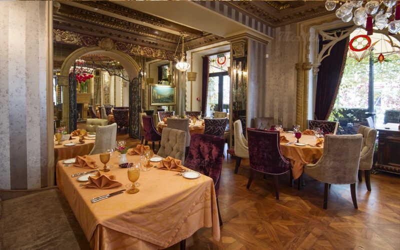 Меню кафе, ресторана Палаццо Дукале (Palazzo Ducale) на Тверском бульваре