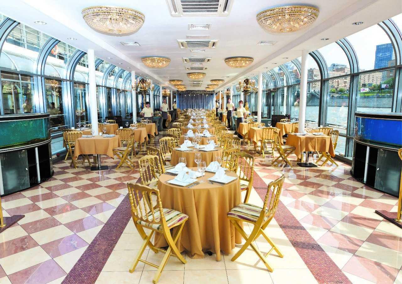 Меню ресторана River Palace (Ривер пэлас) на площади Европы