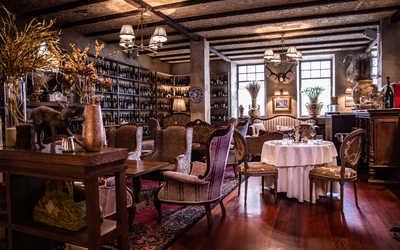 Банкетный зал ресторана Bistrot (Бистрот) в Большом Саввинском переулке фото 1