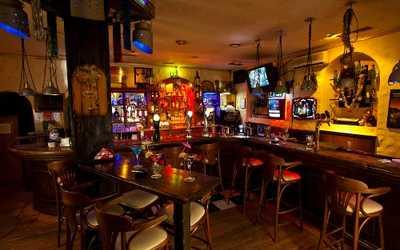 Банкетный зал караоке клуба, ресторана Crazy Milk (Крейзи Милк) на улице Большой Полянка