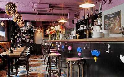 Банкетный зал бара Barry Bar (Барри Бар) на улице Кузнецкий Мост фото 1