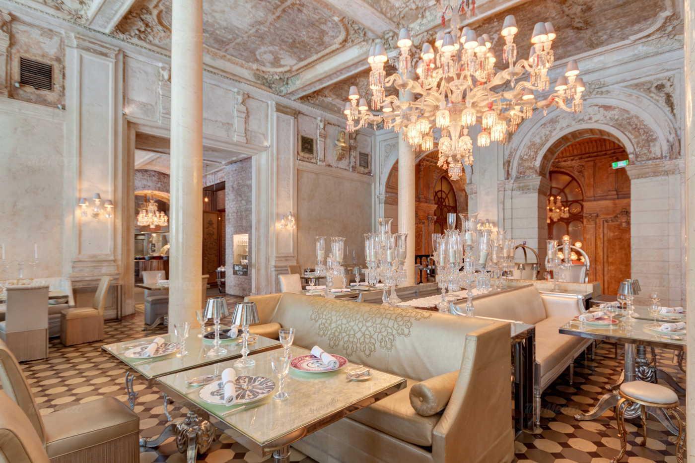 Меню ресторана Cristal Room Baccarat на Никольской улице