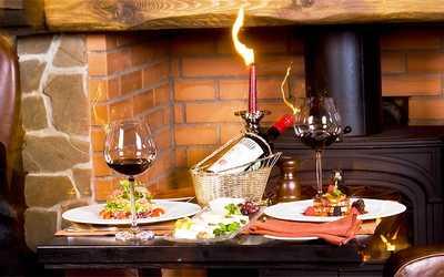 Банкетный зал ресторана Иль Камино (Il Camino) в Большом Козловском переулке