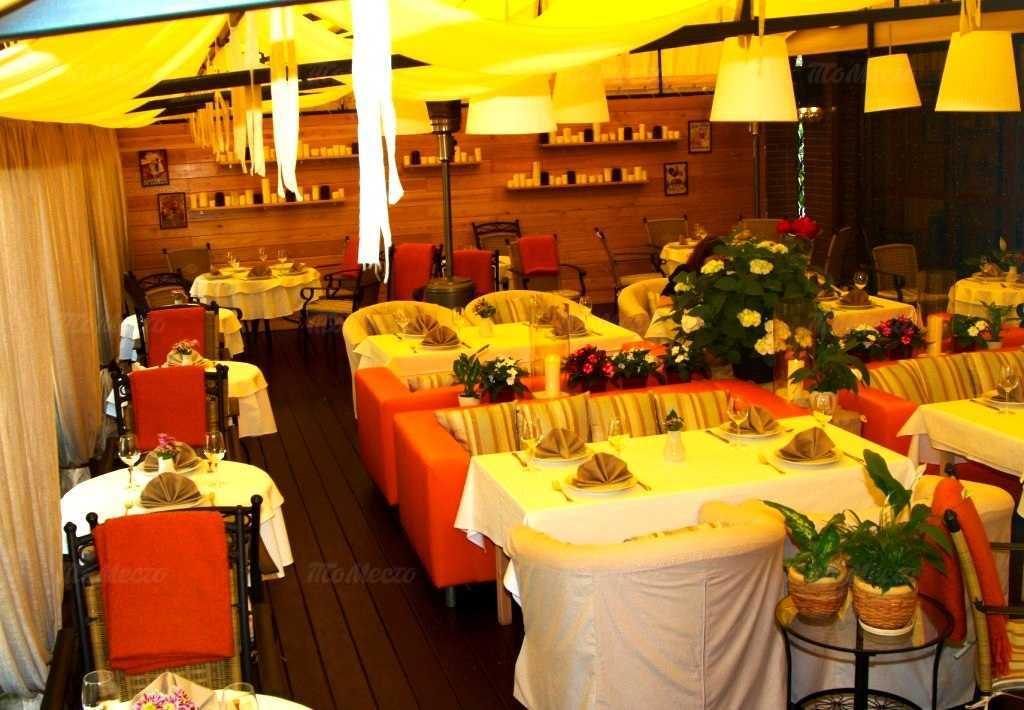 Меню ресторана Иль Камино (Il Camino) в Большом Козловском переулке