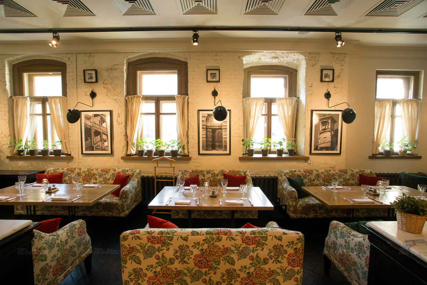 Меню ресторана Нани на улице Малой Дмитровка