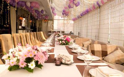 Банкетный зал бара, караоке клуба, ресторана Музей (Muzey) на Космодамианской набережной
