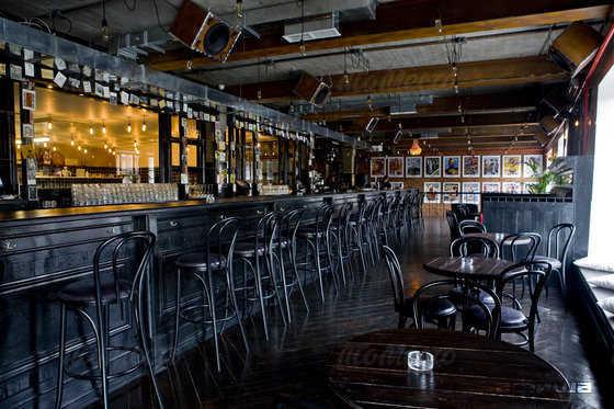 Меню бара Rolling Stone Bar на Болотной набережной