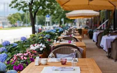 Банкетный зал ресторана Ваниль (Vаниль) на улице Остоженка
