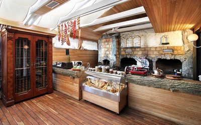 Банкетный зал ресторана Анджело (Аngelo) на проспекте 60-летия Октября фото 3