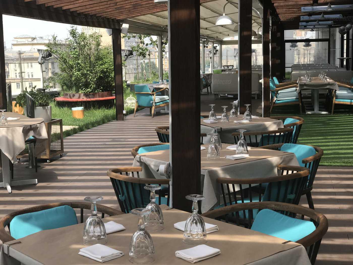 Москва ресторан балкон фото