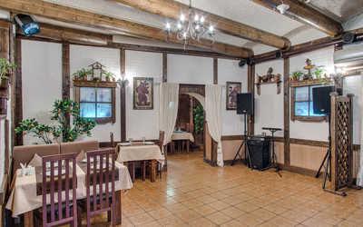Банкетный зал бара, кафе Гурман (Gourmet) на Пятницкой улице
