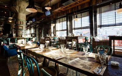 Банкетный зал кафе, ресторана Dandy cafe by Artem Korolev на улице Новый Арбат фото 1