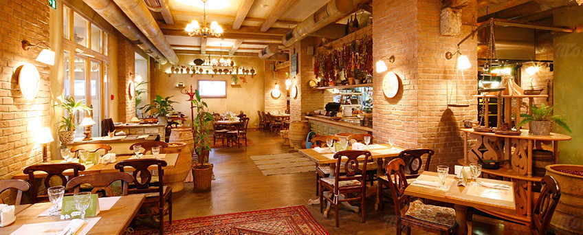 Меню ресторана Джон Джоли на Тверской улице