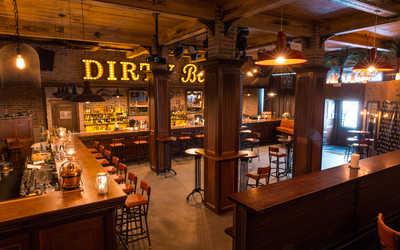 Банкетный зал бара Dirty Blonde (бывш. Бар Гадкий койот) на улице Кузнецкий Мост