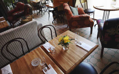 Банкетный зал ресторана Голубка (Golubka) на Большой Пироговской улице