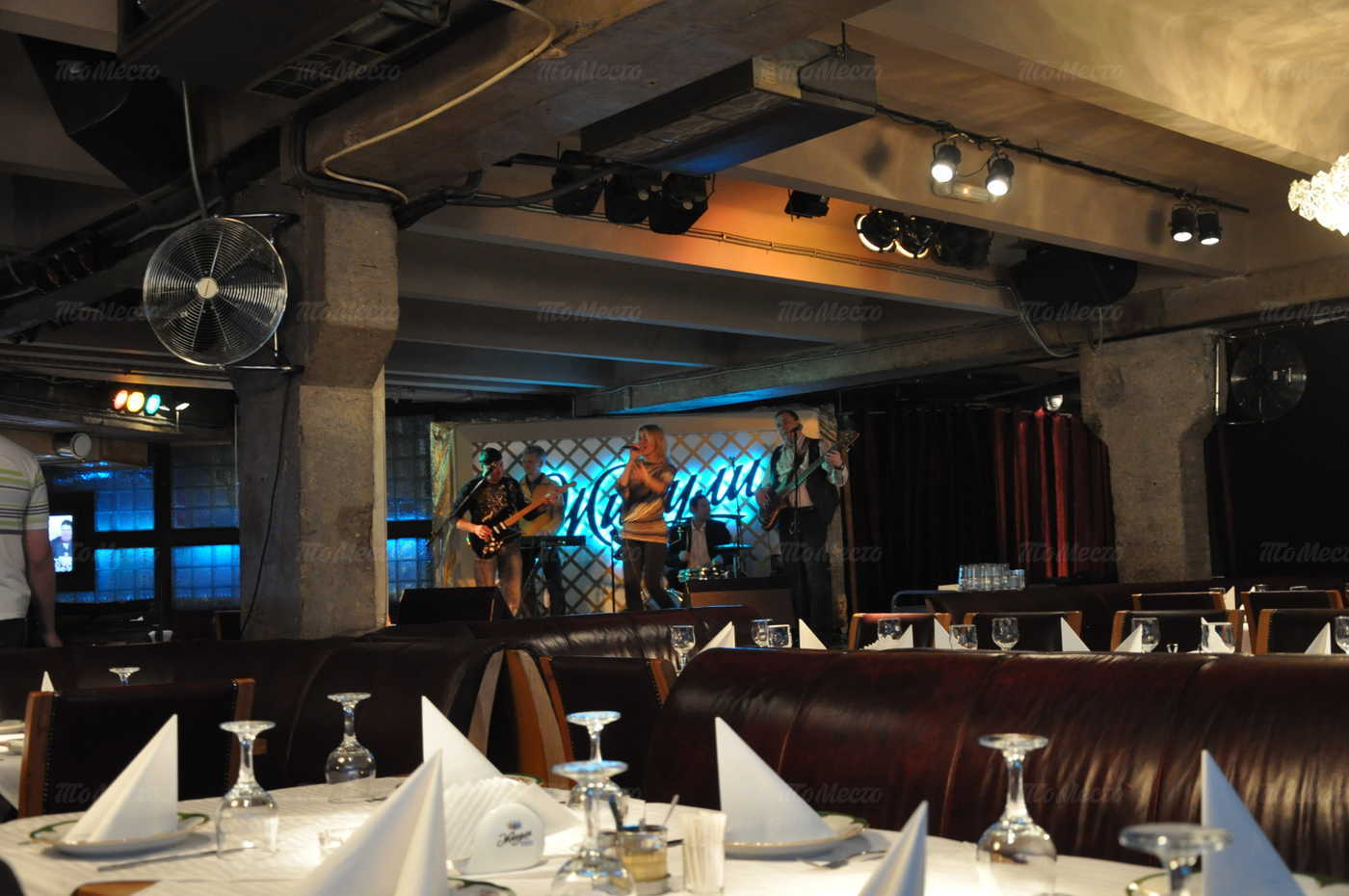 Меню бара, пивного ресторана Жигули на улице Новый Арбат