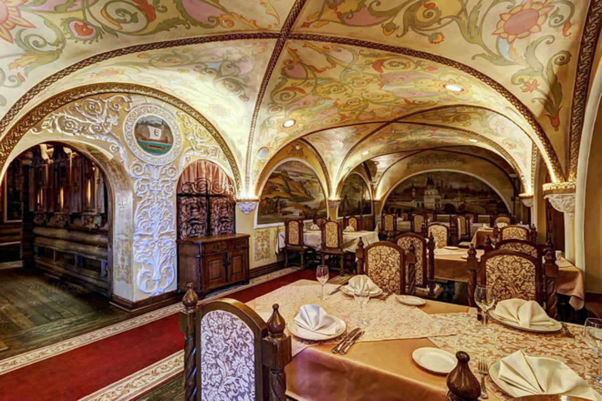 Ресторан Ермак. Москва Нижние Мневники ул., стр. 41, кор. 1
