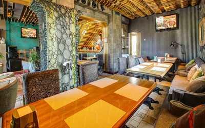 Банкетный зал бара, ресторана Мята в Лужнецком проезде